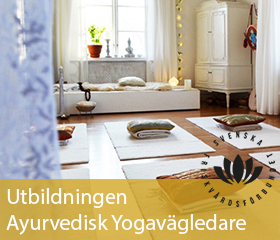 Till Avuvedisk Yogavägledarutbildningen